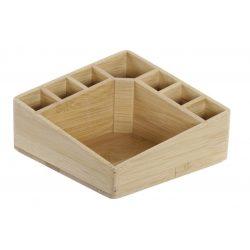 AS-173356 - Rendező doboz bambusz 14x14x7 természetes