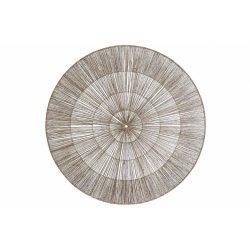 DP-175588 - Dekoráció falra juta fém 90x5x90 természetes barna