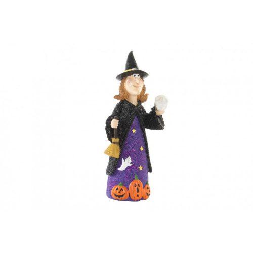 HW-141471 - boszorkány figura, műgyanta, 11,5X11,5X25