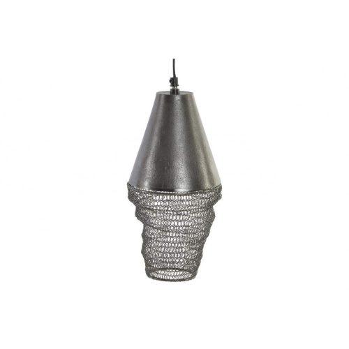LA-152199 - lámpa, mennyezeti, fém, 15X15X30, régies, fekete