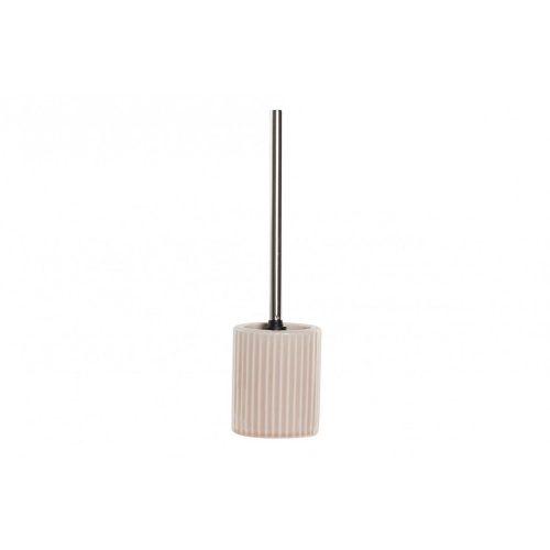LB-173104 - Wc kefe tartóval kerámia 11x40,5x11 rózsaszín