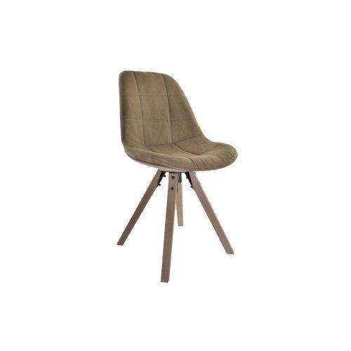 MB-139137 - szék, fa, 60% műszál, 40% pamut, 47X55X85, barna
