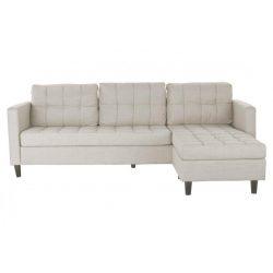 MB-180854 - Szófa poliészter rubberwood 219x151x83 chaiselongue