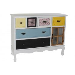 MB-183462 - Bútor fa mdf 114x35,5x85 színes
