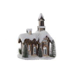NV-174078 - Ház ledes porexpan 28x19x33 havas fehér