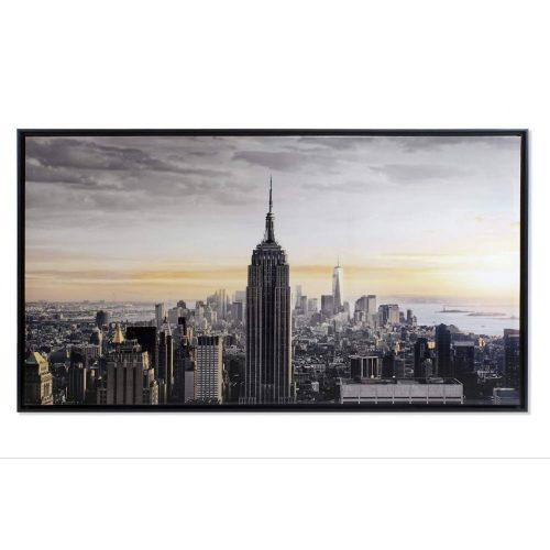 Kép vászon ps 144x3.5x84 new york keretes