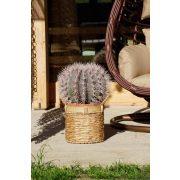 Kosár szett 3db-os junco bambusz 35x35x30 természetes barna
