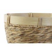 Kosár szett 3db-os junco bambusz 40x40x23 természetes barna