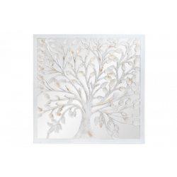 DP-182458 - Dekoráció falra mdf üveg 120x3,5x120 fa