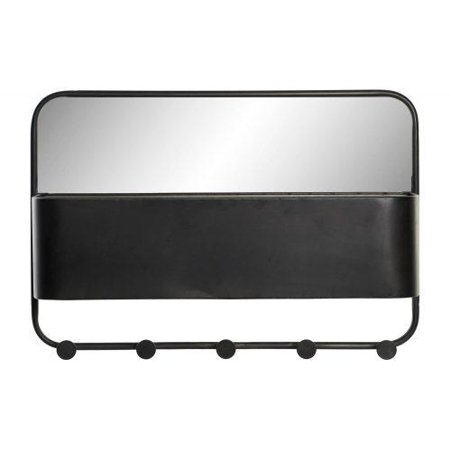 Akasztó fém 60x13,5x41,5 fekete
