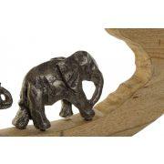 Figura mango aluminium 68x9x33 elefánt