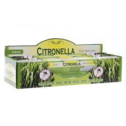 Füstölő 20 aroma citronella exp.6