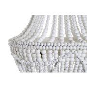 Lámpa mennyezeti fém mdf 50x50x73 gömbök fehér