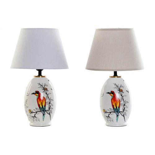 Lámpa, asztali, gres, 25x25x41, madarak, 2, féle