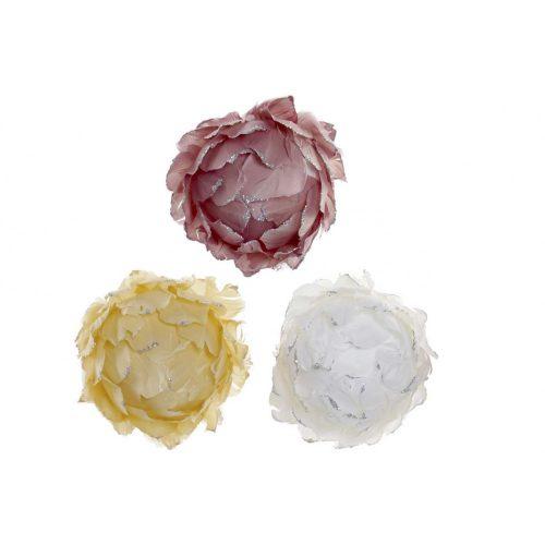 Virág toll porexpan 10x10 csipesz 3 féle