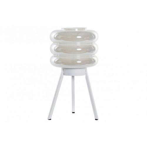 Dekoráció világító led üveg 21x21x32,5 gömb
