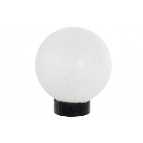Dekoráció világító led üveg 10x10x30 gömb