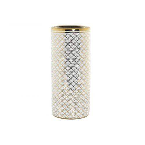 Esernyőtartó porcelán 21x21x46,5 fehér