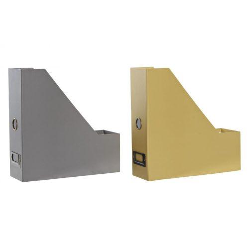 Rendező karton fém 9x26,5x27 könyvek 2 féle