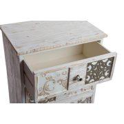Fiókos szekrény, fa, 51,4x34,2x90,6, 4fiókos
