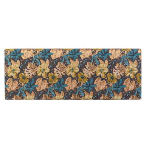 Ágytámlapoliészter fa 160x10x60 leveles