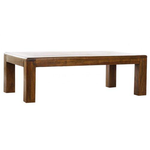 Asztal, kávé-s, akác, 110x60x35