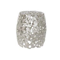 Asztal telefonos aluminium 40x40x45 leveles ezüstözött