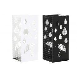 Esernyőtartó fém 19,5x20x47,5 fehér