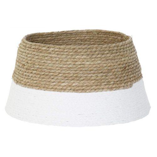 Base arbol fibra algodon 45x45x24 natural