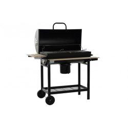 Barbecue acél fa 110x71x103 fekete