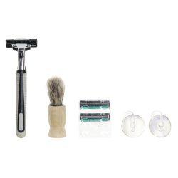 RC-181640 - Ajándék szett 5db-os üveg 8,5x8,5x13,5 borotválkozás