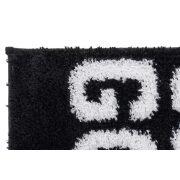 Szőnyeg mikroszálas 50x80 1450 gsm. fekete